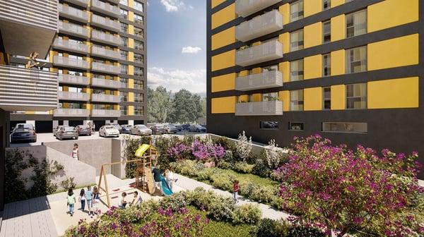complex rezidential bucuresti - investitie apartamente noi