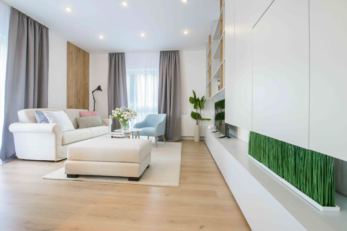 apartamente în din blocuri noi Vivenda București: construcție și finisaje
